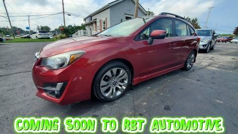 2015 Subaru Impreza for sale at RBT Automotive LLC in Perry OH