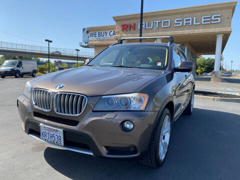 2011 BMW X3 for sale at RN Auto Sales Inc in Sacramento CA