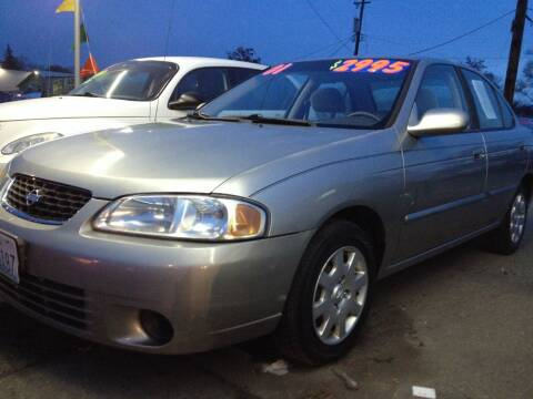 2001 Nissan Sentra for sale at TTT Auto Sales in Spokane WA