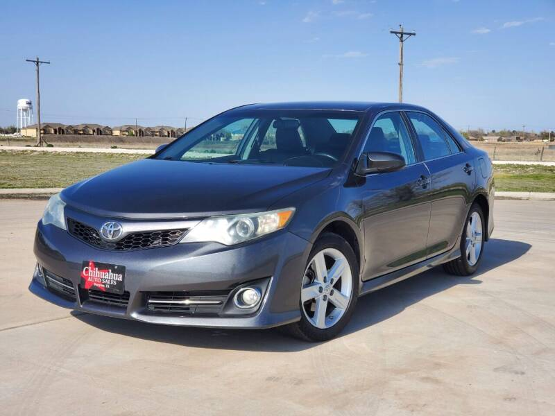 2012 Toyota Camry for sale at Chihuahua Auto Sales in Perryton TX