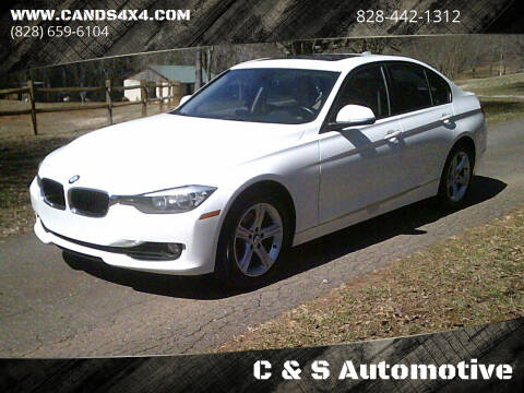 2013 BMW 3 Series for sale at C & S Automotive in Nebo NC