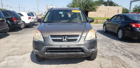2004 Honda CR-V for sale at Anthony's Auto Sales of Texas, LLC in La Porte TX