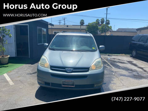 2004 Toyota Sienna for sale at Alliance Auto Group Inc in Fullerton CA