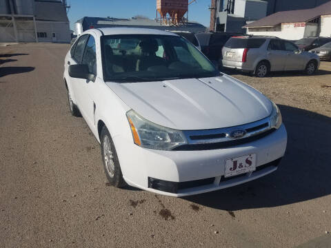 2008 Ford Focus for sale at J & S Auto Sales in Thompson ND