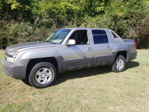 2003 Chevrolet Avalanche for sale at A-1 Auto Sales in Anderson SC