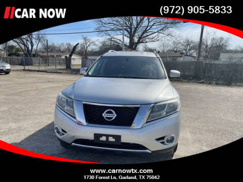 2015 Nissan Pathfinder for sale at Car Now Dallas in Dallas TX