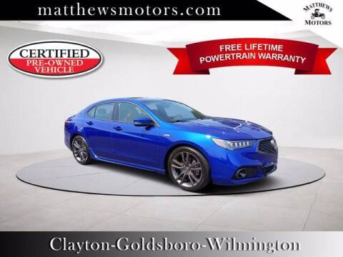2020 Acura TLX for sale at Auto Finance of Raleigh in Raleigh NC