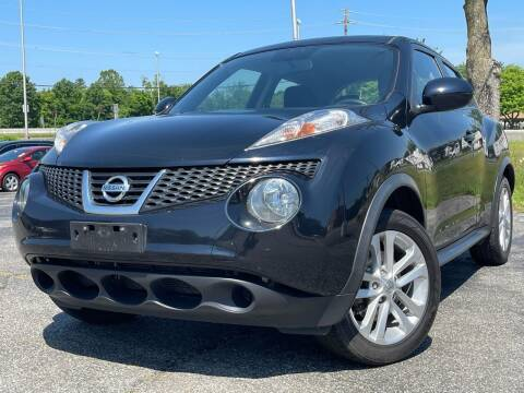 2013 Nissan JUKE for sale at MAGIC AUTO SALES in Little Ferry NJ