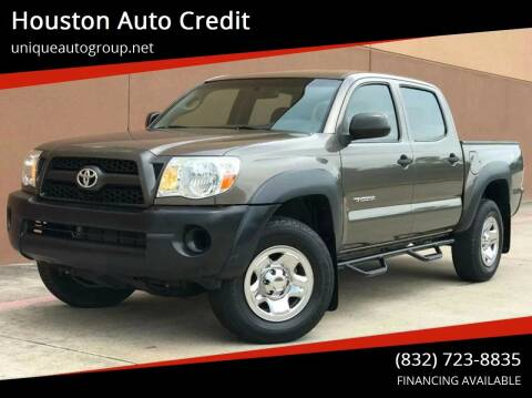 2011 Toyota Tacoma for sale at Houston Auto Credit in Houston TX