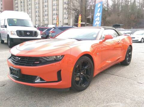2019 Chevrolet Camaro for sale at Porcelli Auto Sales in West Warwick RI