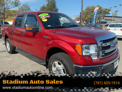 2013 Ford F-150 for sale at Stadium Auto Sales in Everett MA