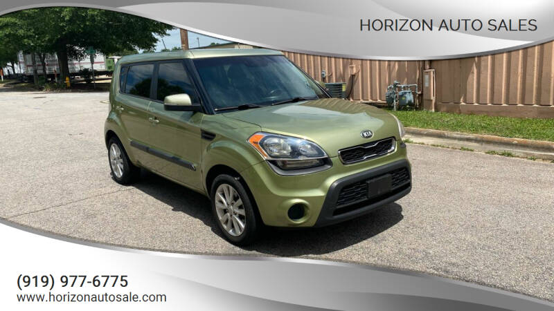 2013 Kia Soul for sale at Horizon Auto Sales in Raleigh NC
