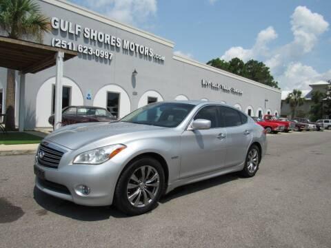 2012 Infiniti M35h for sale at Gulf Shores Motors in Gulf Shores AL