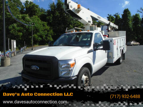 2012 Ford F-350 Super Duty for sale at Dave's Auto Connection LLC in Etters PA