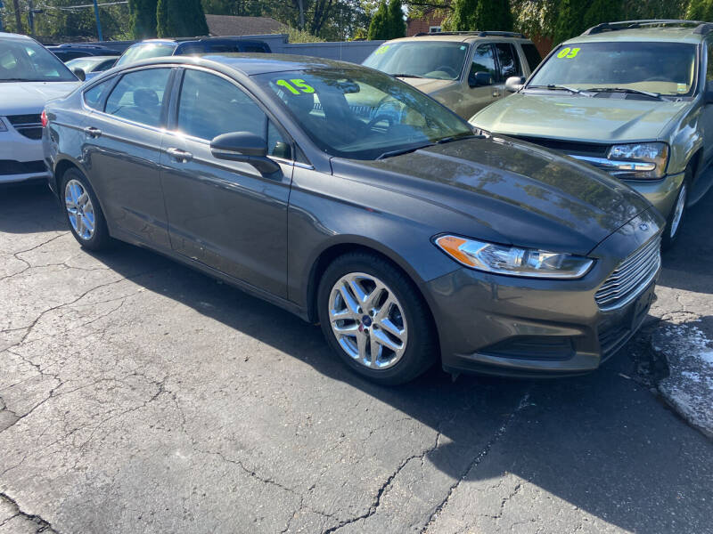 2015 Ford Fusion for sale at Lee's Auto Sales in Garden City MI