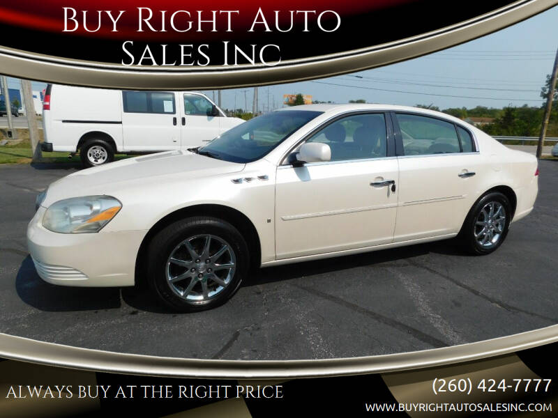 2008 Buick Lucerne for sale at Buy Right Auto Sales Inc in Fort Wayne IN