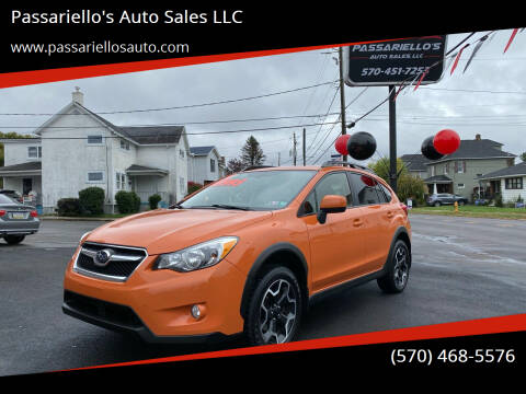 2014 Subaru XV Crosstrek for sale at Passariello's Auto Sales LLC in Old Forge PA