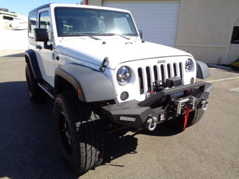 2016 Jeep Wrangler for sale at NorCal Auto Mart in Vacaville CA