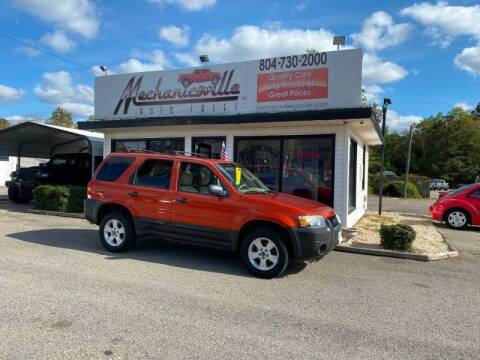 2007 Ford Escape for sale at Mechanicsville Auto Sales in Mechanicsville VA
