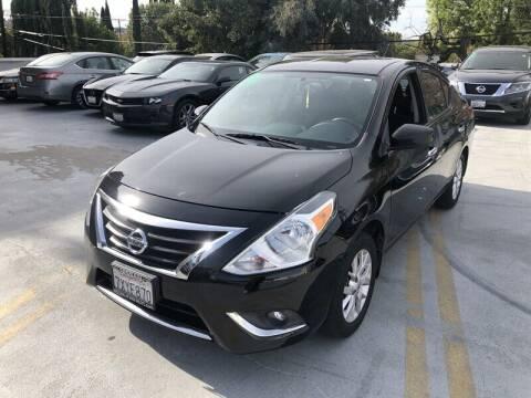 2017 Nissan Versa for sale at Boktor Motors in North Hollywood CA