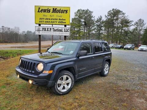 2014 Jeep Patriot for sale at Lewis Motors LLC in Deridder LA