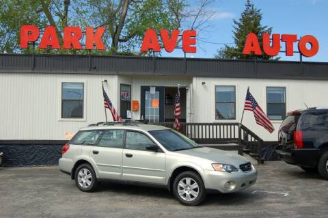 2005 Subaru Outback for sale at Park Ave Auto Inc. in Worcester MA
