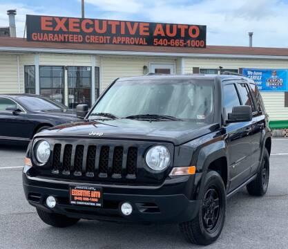 2016 Jeep Patriot for sale at Executive Auto in Winchester VA