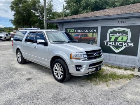 2016 Ford Expedition EL for sale at TD Trucks in Mt Dora FL