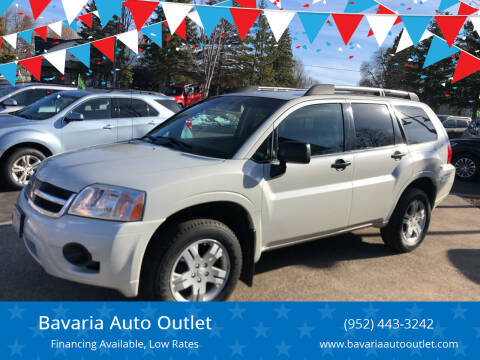 2007 Mitsubishi Endeavor for sale at Bavaria Auto Outlet in Victoria MN