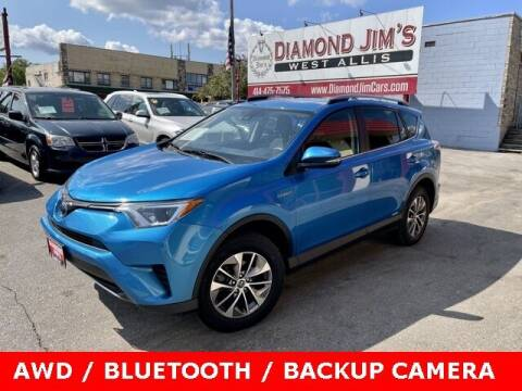 2018 Toyota RAV4 Hybrid for sale at Diamond Jim's West Allis in West Allis WI