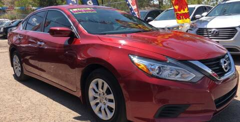2017 Nissan Altima for sale at Duke City Auto LLC in Gallup NM