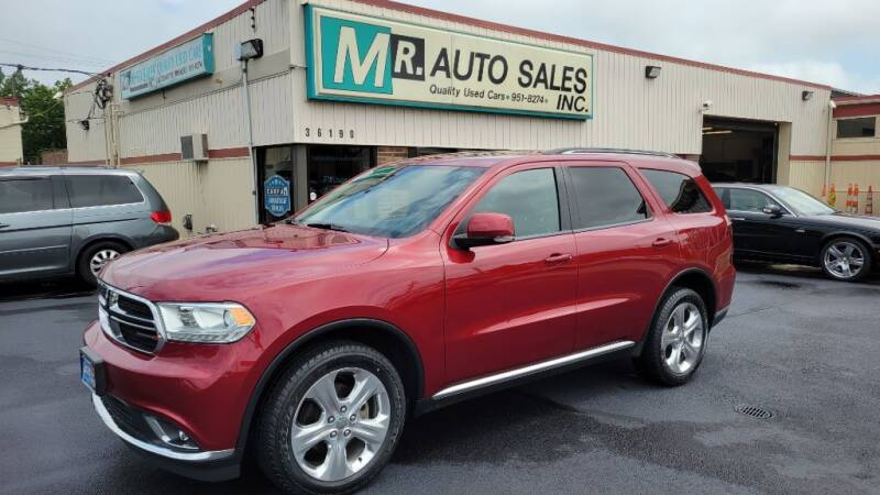 2015 Dodge Durango for sale at MR Auto Sales Inc. in Eastlake OH