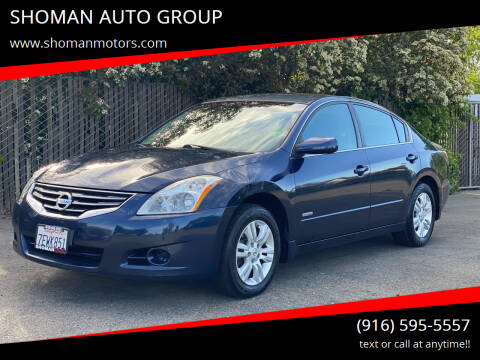 2011 Nissan Altima Hybrid for sale at SHOMAN AUTO GROUP in Davis CA