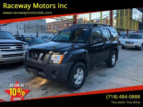 2007 Nissan Xterra for sale at Raceway Motors Inc in Brooklyn NY