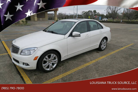 2010 Mercedes-Benz C-Class for sale at Louisiana Truck Source, LLC in Houma LA
