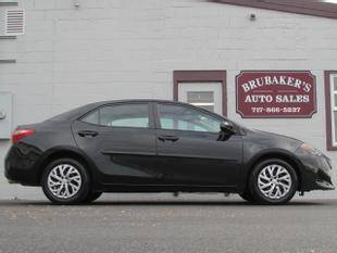 2018 Toyota Corolla for sale at Brubakers Auto Sales in Myerstown PA