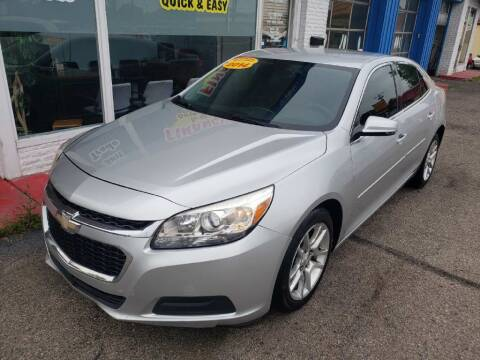 2014 Chevrolet Malibu for sale at AutoMotion Sales in Franklin OH