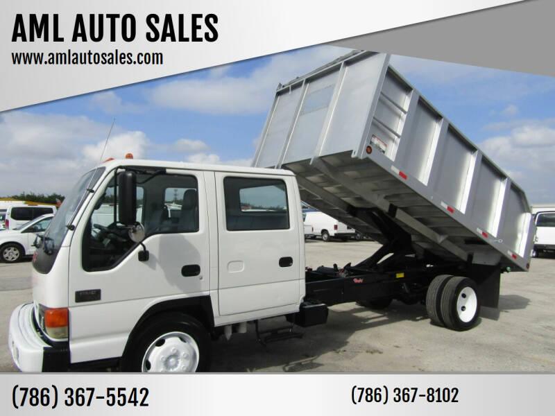 2005 GMC W5500 for sale at AML AUTO SALES - Dump Trucks in Opa-Locka FL
