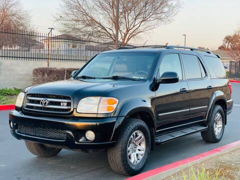 2003 Toyota Sequoia for sale at United Star Motors in Sacramento CA