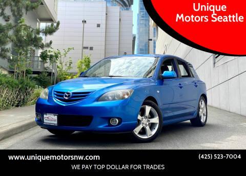 2004 Mazda MAZDA3 for sale at Unique Motors Seattle in Bellevue WA