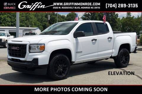 2021 GMC Canyon for sale at Griffin Buick GMC in Monroe NC