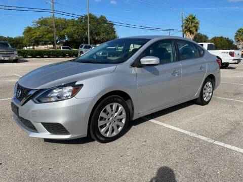 2018 Nissan Sentra for sale at T.S. IMPORTS INC in Houston TX