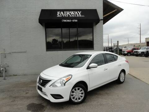 2016 Nissan Versa for sale at FAIRWAY AUTO SALES, INC. in Melrose Park IL