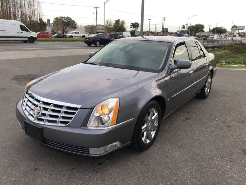 2007 Cadillac DTS for sale at Reliable Motor Broker INC in Tampa FL