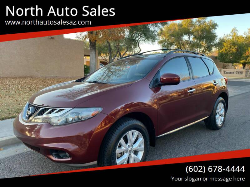 2011 Nissan Murano for sale at North Auto Sales in Phoenix AZ