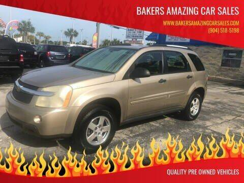 2007 Chevrolet Equinox for sale at Bakers Amazing Car Sales in Jacksonville FL