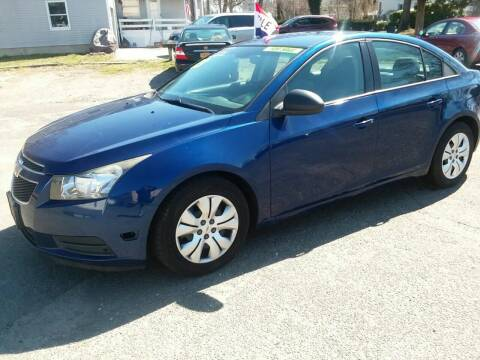 2013 Chevrolet Cruze for sale at International Auto Sales Inc in Staten Island NY