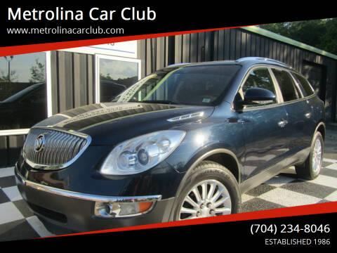 2012 Buick Enclave for sale at Metrolina Car Club in Matthews NC