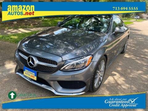 2017 Mercedes-Benz C-Class for sale at Amazon Autos in Houston TX