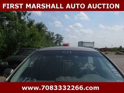 2007 Nissan Altima for sale at First Marshall Auto Auction in Harvey IL